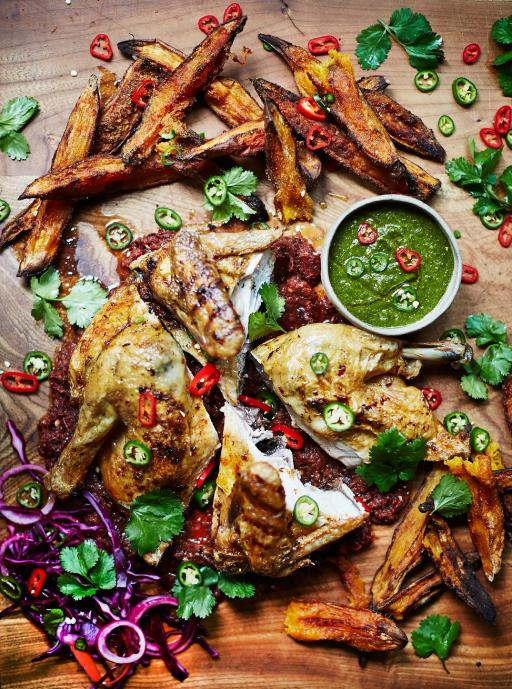 Piri piri chicken by Jamie Oliver
